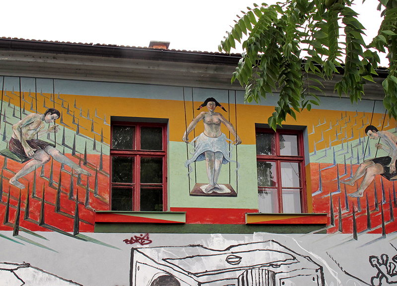 SVN0007 o.T. (alternatives Kulturzentrum Metelkova, Ljubljana, Slowenien 2011)