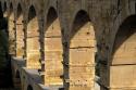 FRA0109 o.T. (Pont du Gard - Blick vom Westufer/F 2010)