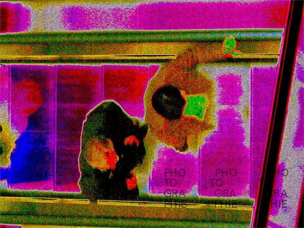 """0089: o.T. (oder """"Bewegt"""", Serie In der Mall, Hamburg 2008)"""