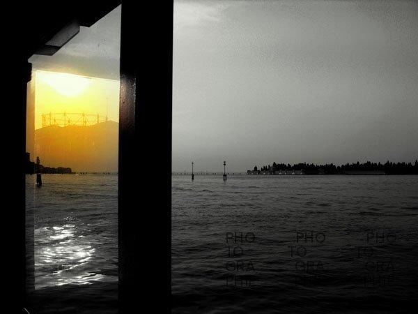 0102: o.T.  (Venedig, Blick nach San Michele 2009)