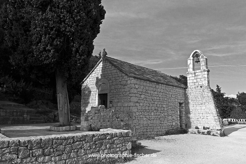 0853: Kapelle Hl. Nikolai (Split Marjan, Kroatien 2015)