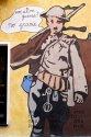 0412 Noch ein Krieg? Nein Danke. (Charlie Chaplin, Murales in Orgosolo, Sardinien 2010)
