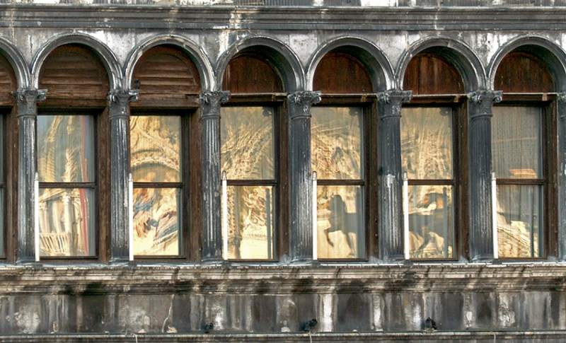 0051: o.T. (San-Marcus-Platz Venedig, Italien 2009)