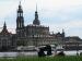 0524 o.T. (Blick zur Hofkirche, Dresden 2010)