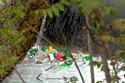 PK0906: Buntes Treiben oder Grüne und andere Punkte (Mostar, Bosnien Herzegowina, 2015)