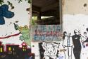 PK0907: Hidden Ambitions I (Graffiti am Sniper Tower; Mostar, Bosnien Herzegowina 2015)
