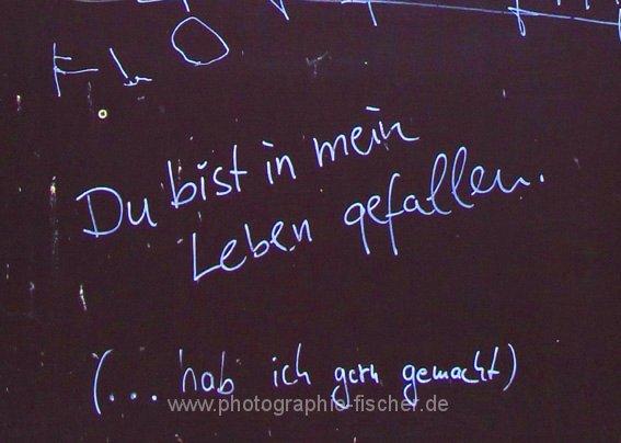 PK0543: Du bist in mein Leben gefallen (Dresden, 2011)