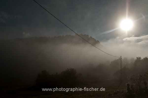 PK0651: Morgennebel in den Abruzzen (Italien 2012/14)