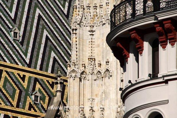 PK0784: o.T. (Wien mit Detail vom Stephansdom 2013)