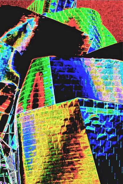 PK0263a: Kunst übertürmt sich (Guggenheim Museum Bilbao, 2009)