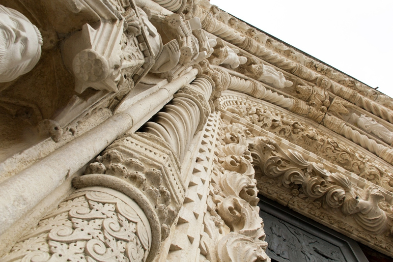 PK0892: o.T. (Portal der Kathedrale, Šibenik, Kroatien, 2015)