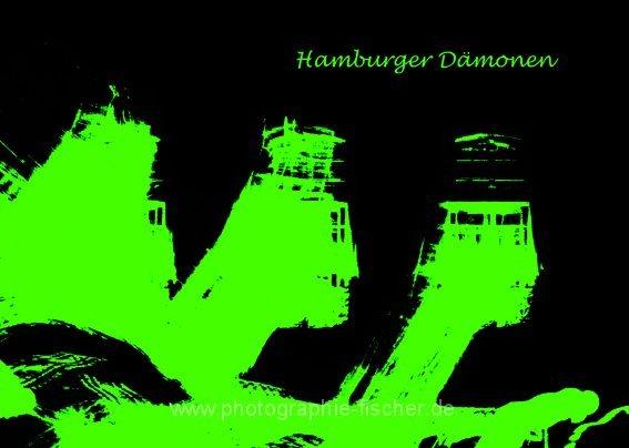 PK0009: Hamburger Dämonen (Eingangsfassade der Laeiszhalle; Hamburg 2008)