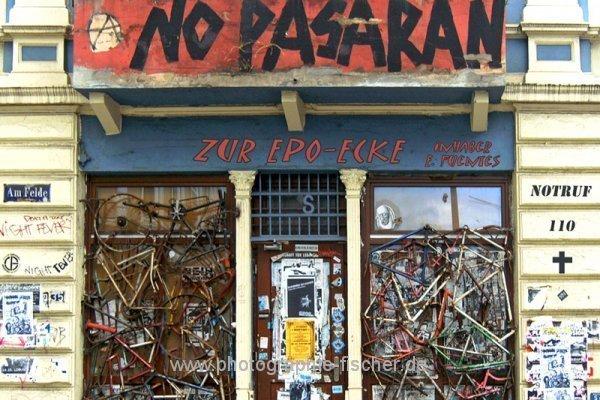 PK0689: No pasaran - Zur EPO-Ecke (Montage, Hamburg-Altona 2009/2012)