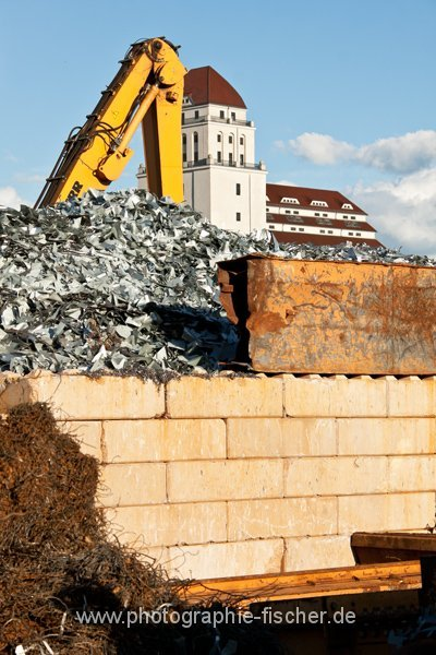PK0721 o.T. (Alberthafen mit Blick zur Dresdner Mühle; Dresden 2013/14)