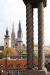PK0729: o.T. (Zagreb; Blick vom Strossmayerovo šetalište zur Kathedrale; Kroatien 2011/13)