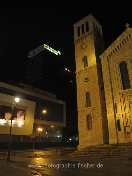 sar009 Josephskirche vor dem Tower
