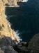 """sa080 Blick aus 100m Höhe auf die """"Rehleiter"""" zur Neptungrotte bei Capo Caccia"""