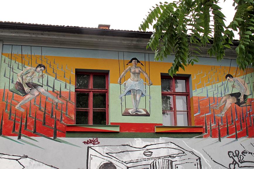 SVN0007 o.T. (alternatives Kulturzentrum Metelkova, Ljubljana, Slowenien 2011)