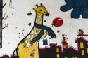 """BIH0062 o.T. (Graffiti am """"Snipertower"""", Mostar, Bosnien Herzegowina 2015)"""