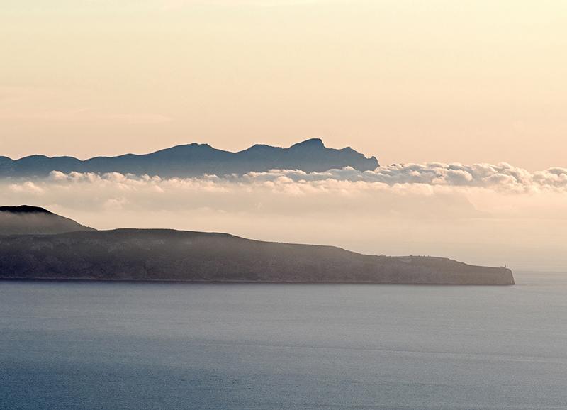 ITA_6069: Abendlicher Blick zu den Ägadischen Inseln (westlich von Sizilien, Italien 2019)