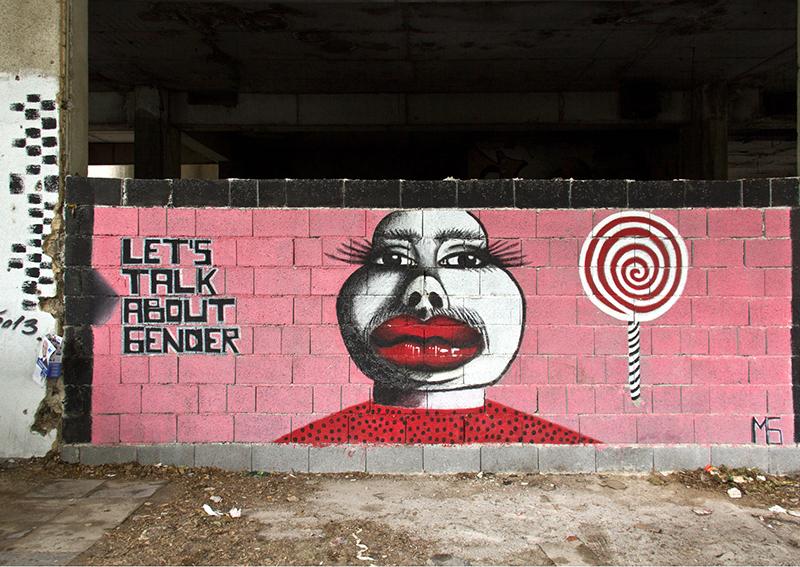 """BIH0064 o.T. (Graffiti am """"Snipertower"""", Mostar, Bosnien Herzegowina 2015)"""