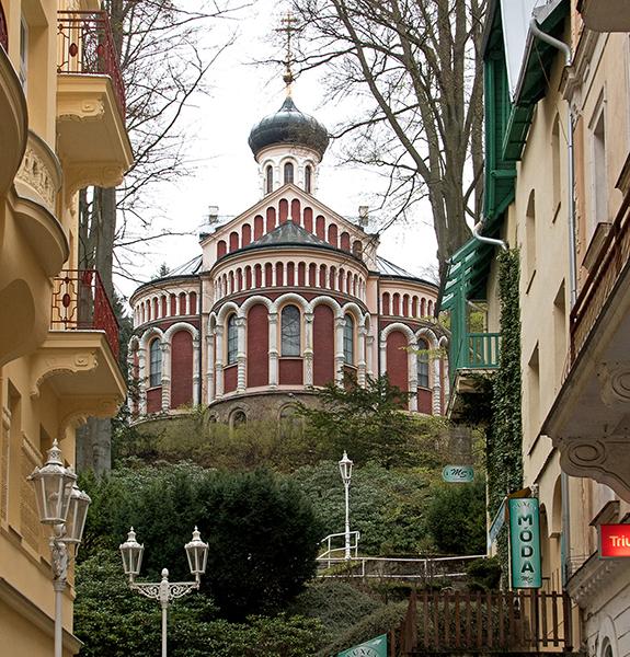 CZE0300: o.T. (Russisch orthodoxe Kirche, Marienbad/Mariánské Lázně, Region Karlovy Vary, Tschechien 2017)